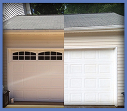 Before And After Garage Door Repair